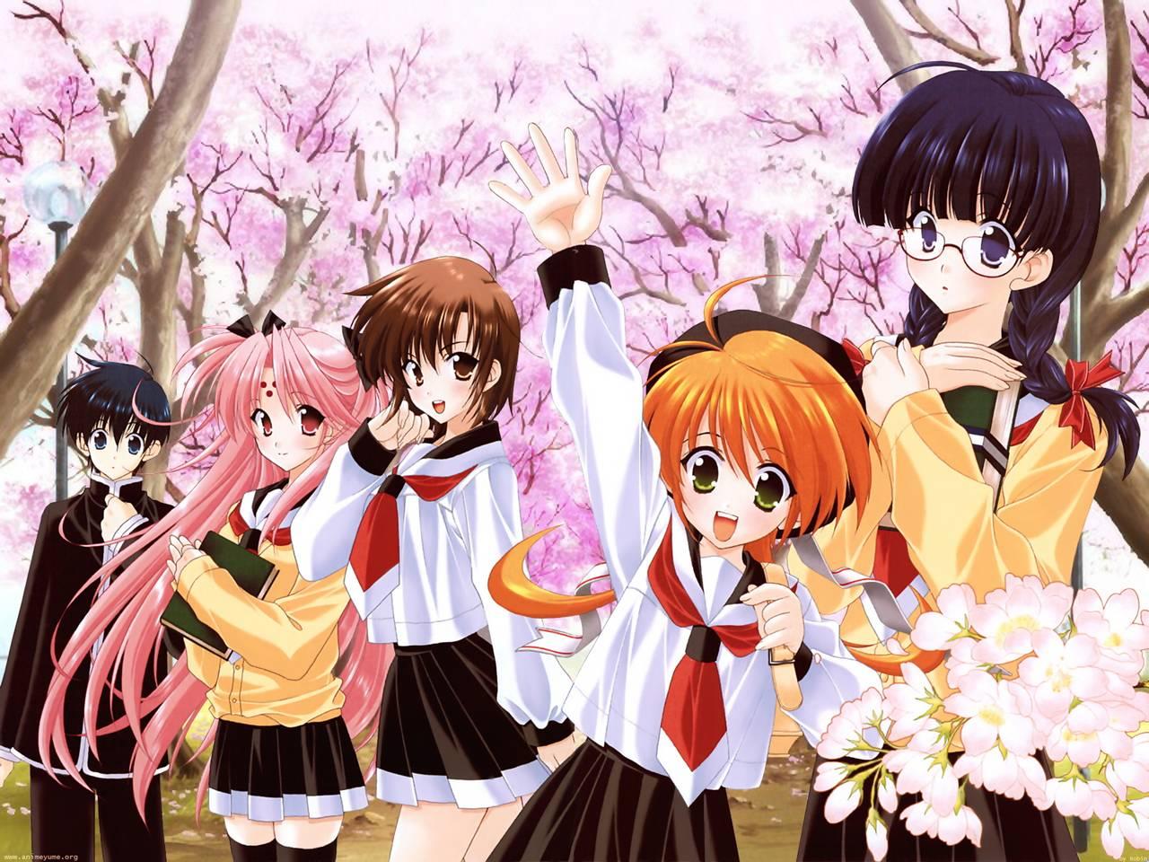 anime girl wallpaper border - photo #1